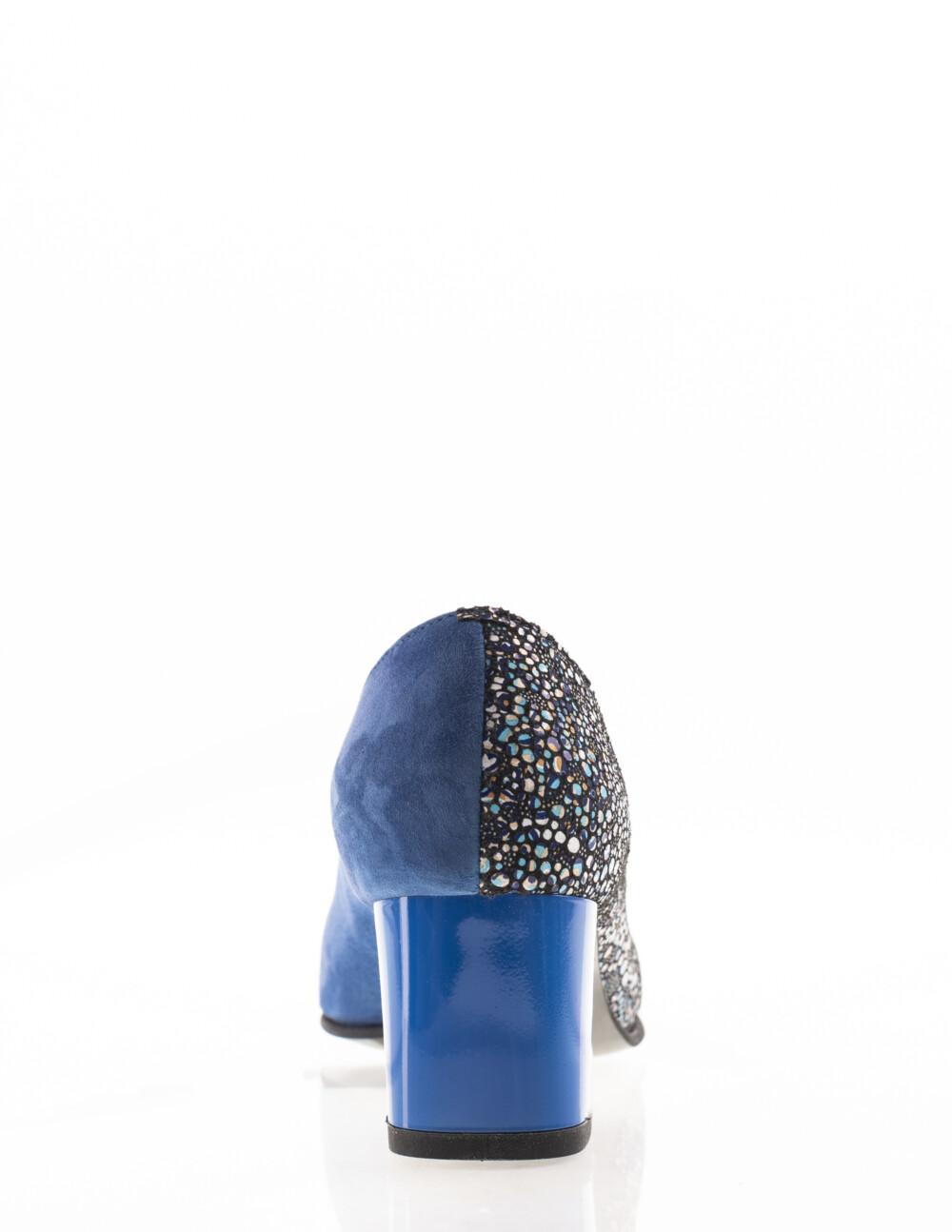 pantofi albastru electric
