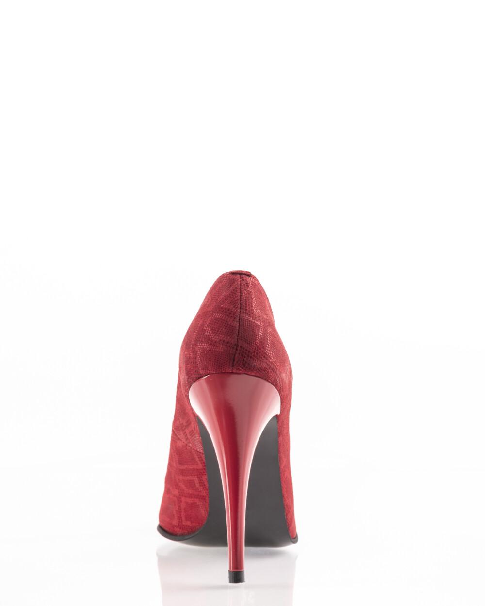 pantofi rosii stiletto din piele naturală vreaupantofi