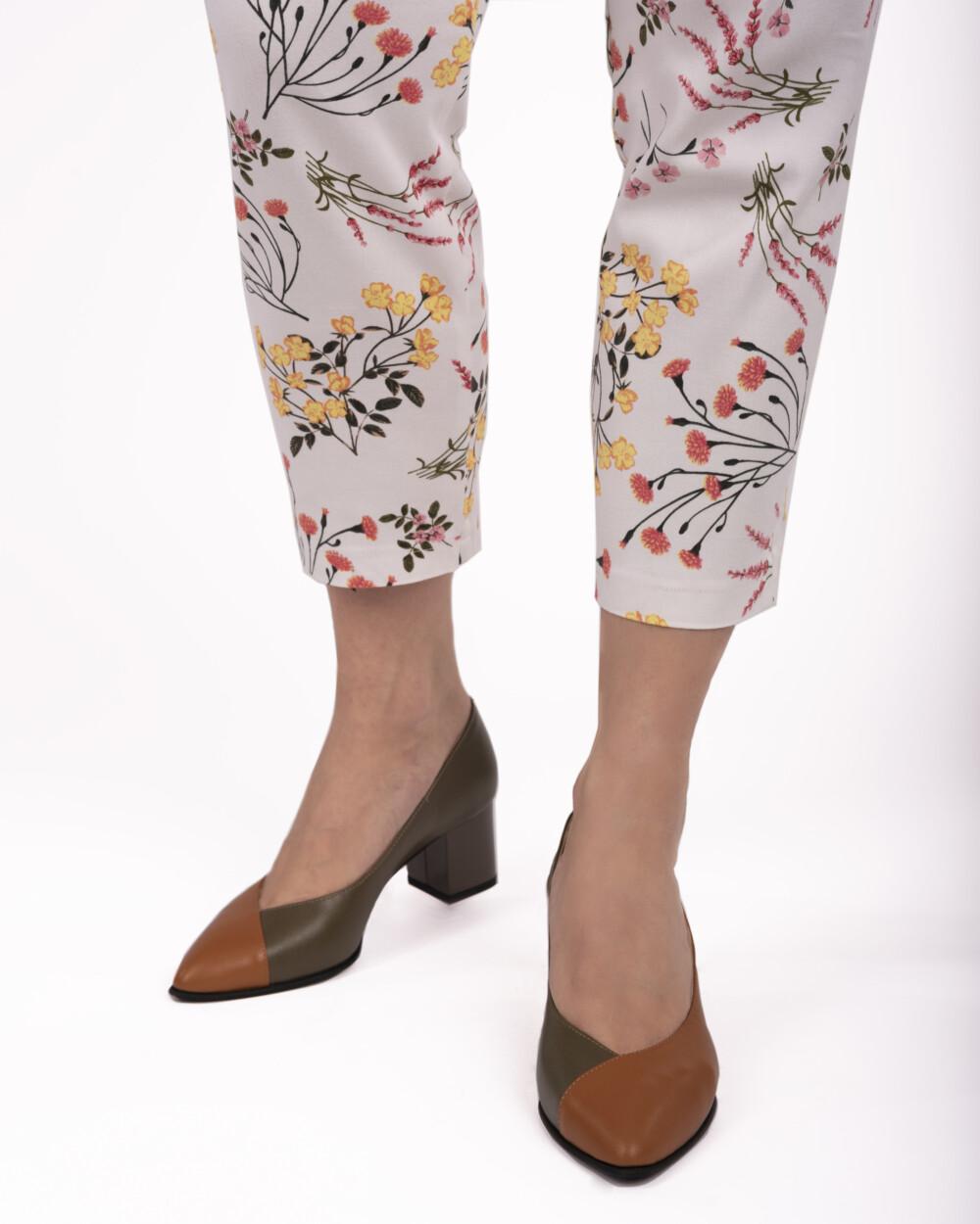 pantofi muștar din piele naturală vreaupantofi.com